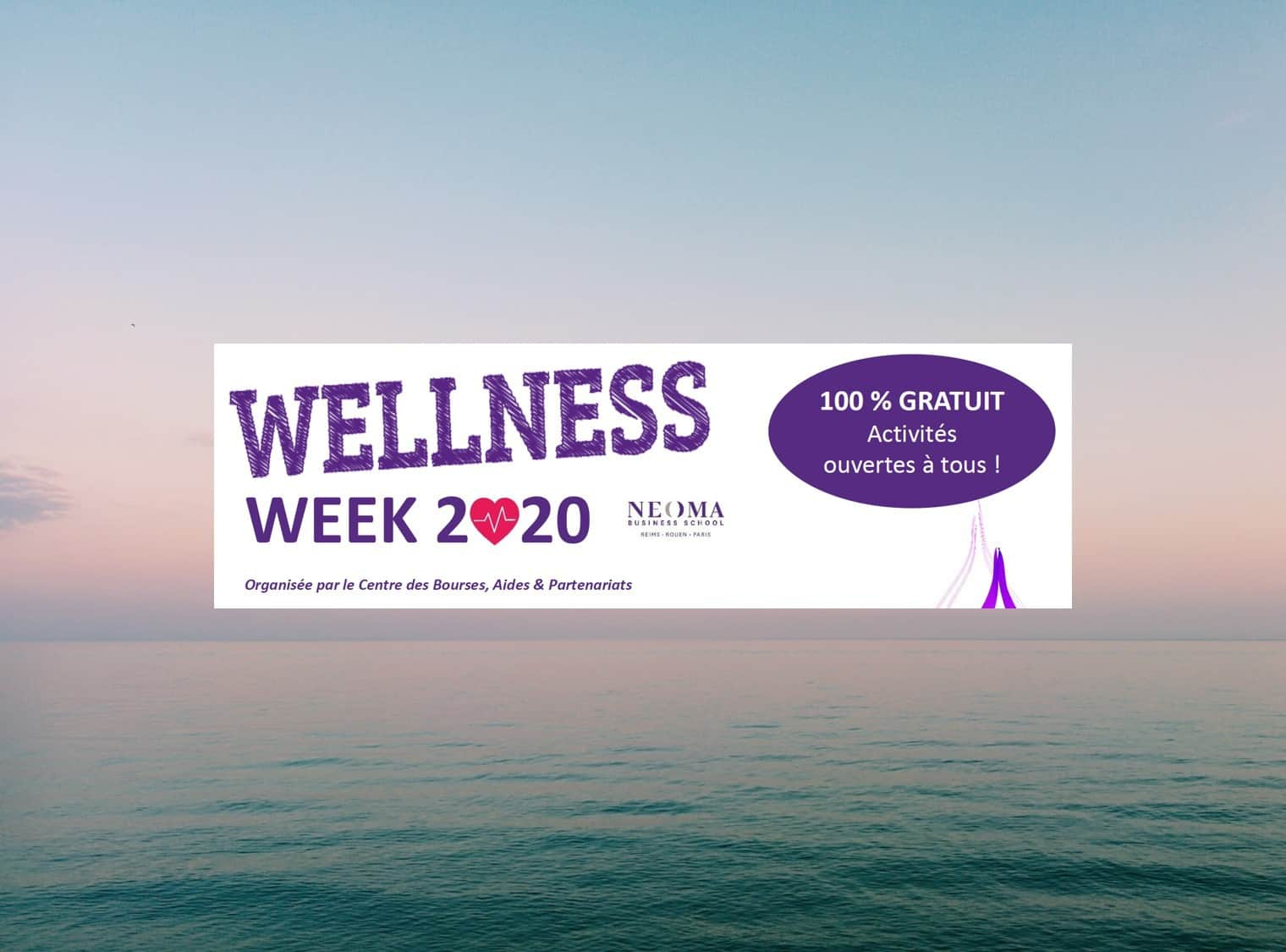 illustration A week devoted to student well-being: Wellness Week