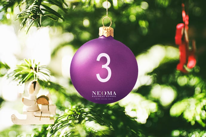 illustration #3 : Dream Act – Advent Calendar 100% made In NEOMA
